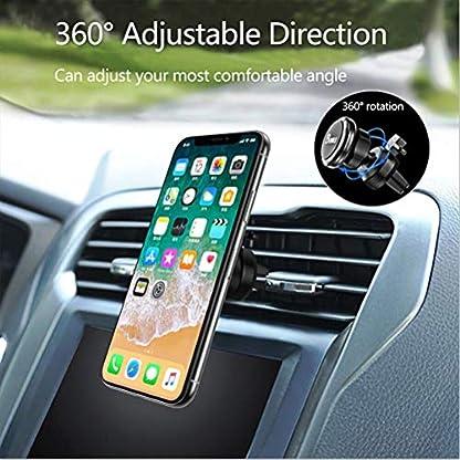 Handyhalter-Auto-Handyhalterung-Magnet-Kfz-Handy-Autohalterung-handyhalter-frs-auto-Lftung-Universal-Halterung-360-Drehbar-Halter-fr-iPhone-XS-MAX8-77PlusSamsung-Galaxy-S9S8S7J5J7A5-usw
