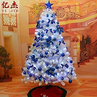 CYWYQ-Led-leuchten-Knstlicher-Weihnachtsbaum-Lwl-Baum-Mit-Metallstnder-Premium-fichte-Klappbar-Auto-ausbreitung-Wohnaccessoires