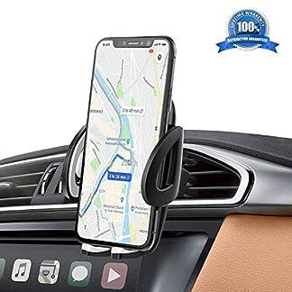 Handyhalter-frs-Auto-Handyhalterung-Auto-Kratzschutz-360Drehbarem-Gelenk-IZUKU-Handy-Halterung-Auto-Lftung-Universal-Kompatibel-fr-iPhone876-Samsung-Smartphone-mit-Einer-Breite-von-53cm-95cm