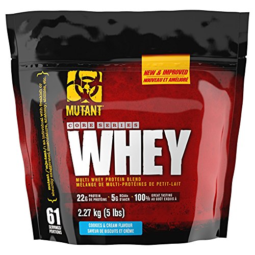 Mutant – Mutant Whey ( 5lbs – 2268g ) – Cookies & Cream