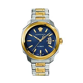 Versace-Herren-Armbanduhr-Analog-Automatik-mit-Edelstahlband-VAG030016