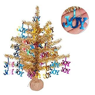 Underleaf-Bunter-Mini-knstlicher-PVC-Weihnachts-Weihnachtsbaum-Kleiner-Weihnachtsschreibtisch-Baum