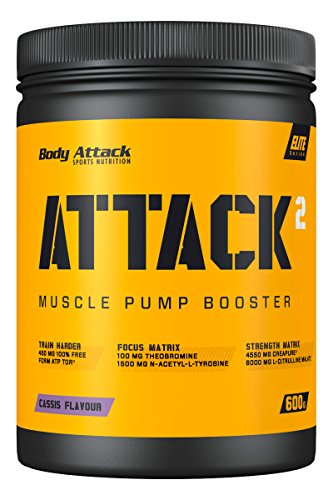 Body Attack ATTACK² , Cassis, 600 g