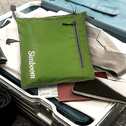 SIMBOOM-100L-Faltbare-Reisetasche-Sporttasche-Leichter-Faltbare-Reise-Gepck-Wasserdicht-Duffel-Taschen-mit-schuhfach-fr-Gepck-Reise-Sport-Gym-Urlaub