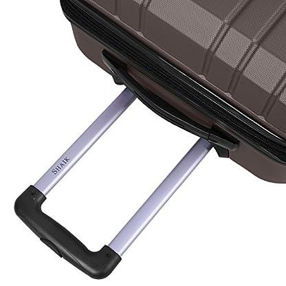 Shaik-Serie-XANO-HKG-Design-Hartschalen-Trolley-Koffer-Reisekoffer-in-3-Gren-MLXLSet-5080120-Liter-4-Doppelrollen-TSA-Schloss