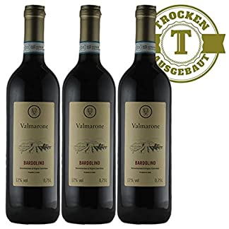 Rotwein-Italien-Bardolino-2016-trocken-3-x-075l-VERSANDKOSTENFREI