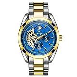 Souarts-Herren-Armbanduhr-mit-Kalender-Hohl-Design-Einfach-Stil-Studentenuhr-Casual-Analoge-Mechanische-Uhr-mit-Batterie-Blau