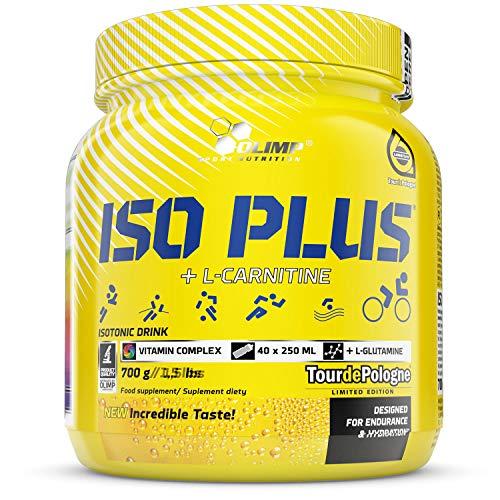 OLIMP Iso Plus Powder 700g isotonik drink isotonische hydratation für ein fahrrad jogging elektrolyte flüssigkeitsergänzung