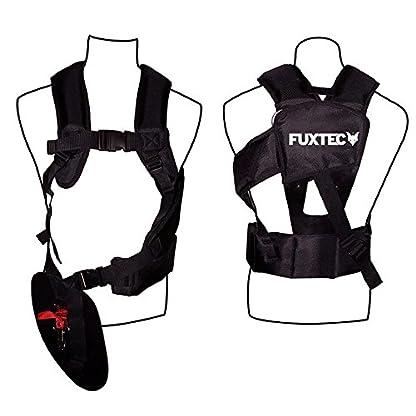 FUXTEC-Profi-Benzin-Motorsense-FX-PS152-Profisense-Rasentrimmer-Freischneider-Fadenspule-fs-Faden-2-Takt-Antivibrationssystem-Profi-Komfort-Tragegurt