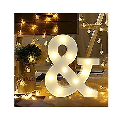 sunnymi-Alphabet-LED-Brief-Lichter-leuchten-weie-Kunststoff-Buchstaben-Stehen-Hngen-A-bis-Z-Wortkombination-Home-Garten-Hotel-Geschft-Dekor