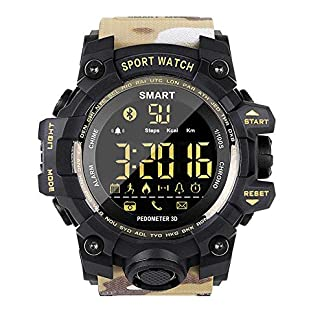 EX16S-SmartwatchSchrittzhler-mit-PulsmesserFitness-Uhr-zur-Herzfrequenz-und-Fitnessaufzeichnung-Tracker-GPS-Laufuhr
