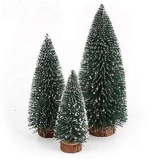 VORCOOL-Mini-Bume-Weihnachtsbaum-Schnee-Weihnachtsbaum-Kunststoff-Dekoration-fr-den-Innenbereich