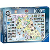 Ravensburger-Our-Native-Lands-No2-The-North-South-Scotland-1000-Teile-Puzzle