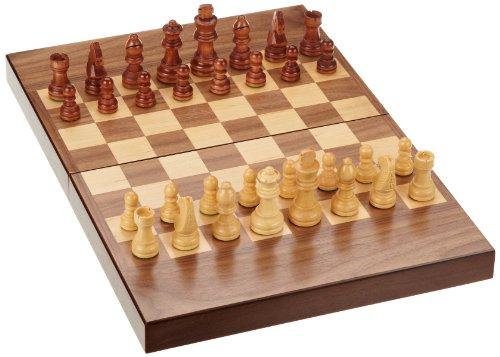 Philos-2508-Schach-Backgammon-Dame-Set-Feld-32-mm-Knigshhe-65-mm-Magnetverschluss