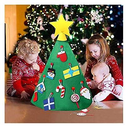 Balock-Schuhe-Filz-Weihnachtsbaum-3D-DIY-Filzs-Geschenke-Spielzeug-Kinder-Baum-DIY-Weihnachtsbaum-Dekoration-Hngend-Dekor-fr-Kinder-Weihnachts-Geschenk