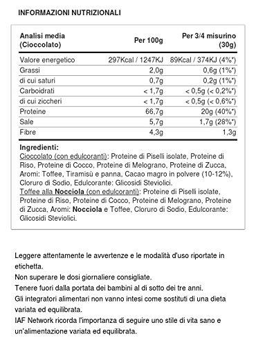 Scitec Nutrition Pure Form Vegan Protein 450g Schoko