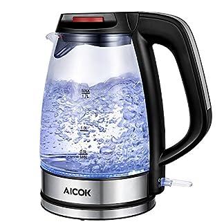 Aicok-Glas-Wasserkocher-17-Liter-Wasserkocher-mit-LED-Beleuchtung-2200-Watt-Elektrischer-Wasserkocher-Trockenlaufschutz-BPA-Frei-schwarz