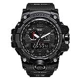 Herren-Digitale-Uhren-Sport-Laufen-wasserdichte-militrische-Armbanduhr-Fashion-Men-LCD-Digital-Stoppuhr-Herren
