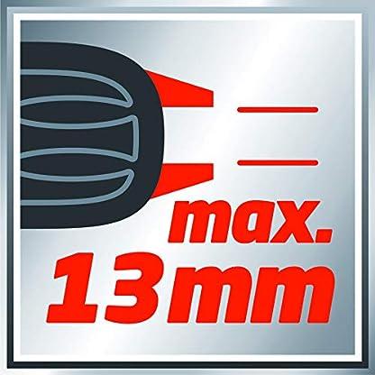 Einhell-Schlagbohrmaschine-TC-ID-550-E-550-W-Drehzahlregelelektronik-Drehzahlvorwahl-Rechts-Linkslauf-Metall-Tiefenanschlag-Zusatzhandgriff