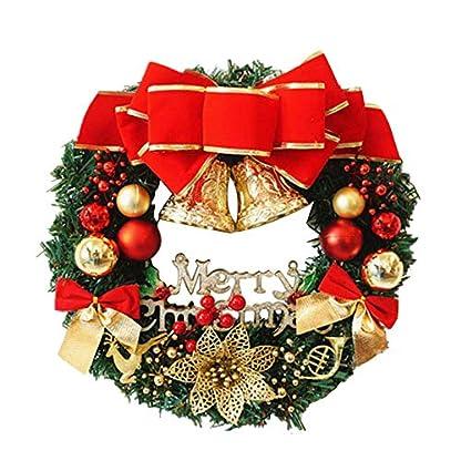Happy-day-Trkranz-Weihnachtsdekoration-60-cm-Rattan-Beeren-Ahornbltter-Herbsttr-Tr-Wand-Weihnachtsdekoration