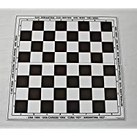 HenRal-New-Unique-Design-Eco-Friendly-Folding-Chess-Board-with-Countries-Years-of-Hosting-World-Chess-Championships-40mm-Field-Brown-EINZIGARTIGES-KLAPPBAR-Schachbrett-N4-BRAUN