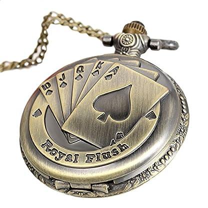 Avaner-Taschenuhr-Antike-Steampunk-Royal-Flush-Poker-Quarz-Taschenuhr-Anhnger-Halskette-mit-31-Zoll-Kette-Damenuhr-Herrenuhr-Mnner