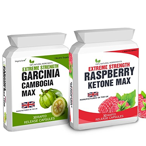 Body Smart Herbals – 30 Raspberry K-Max – No Fillers 1500mg Daily Dose 30 Garcinia Cambogia – No Fillers 1500mg Daily Dose