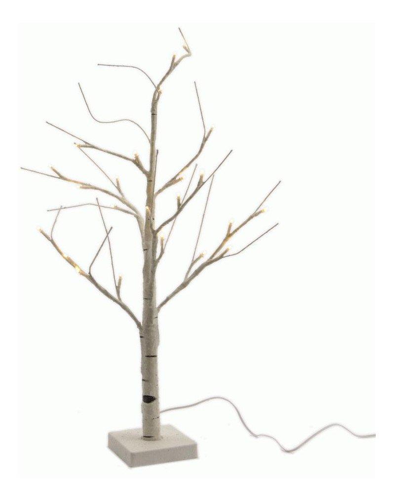 Kaemingk-LED-Baum-Birke-60-cm-aus-witterungsbestndigem-Kunststoff-wei-fr-den-Auenbereich-mit-24-warmwei-LED