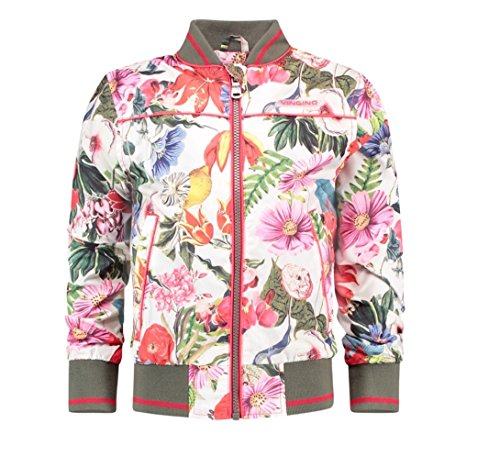 Vingino Girls Jacke Torika Bomberstyle Blumen, Fb. red