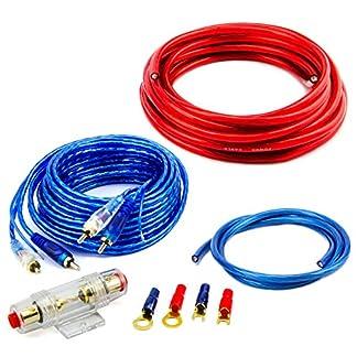CAR-HIFI-Verstrker-Endstufe-Kabel-Anschlusskabel-KOMPLETTSATZ-10-qmm-mit-Cinch-Kabel