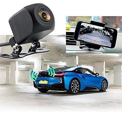 Hifuture-Rckfahrkamera150-Winkel-WiFi-Mini-Nachtsicht-Auto-Rckansicht-KameraIP66-wasserdichtRckfahrhilfeEinparkhilfeideal-fr-die-meisten-Automodellfr-iOS-und-Android-Handy