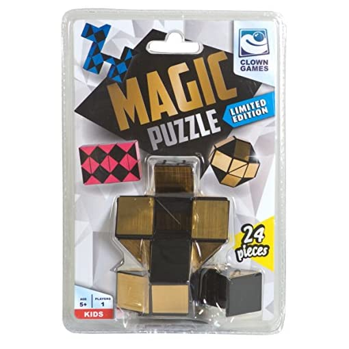 Clown-0896025-Magic-Puzzle-Gold-24-Tlg