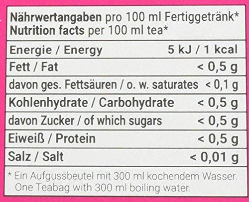 FLORAGOLD-Pyramidenbeutel-Frchtetee-1er-Pack-1-x-68-g