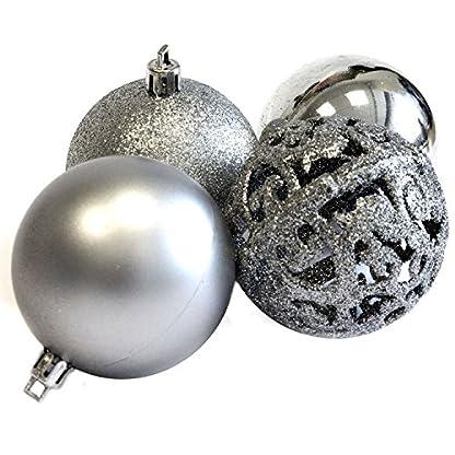 Christmas-Gifts-100-x-Weihnachtskugeln-Plastik-Silver-121-x-357-x-234-cm