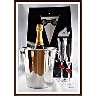 Champagner-Veuve-Clicqout-Brut-Yellow-Label-in-stabiler-Smoking-Tragetasche-kostenloser-Versand