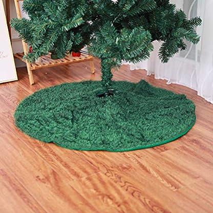 Amosfun-Plsch-Weihnachtsbaum-Rock-Weihnachtsbaumdecke-Baumdecke-Christbaumstnder-Decke-Weihnachtsschmuck-Weihnachtsdeko-122cm