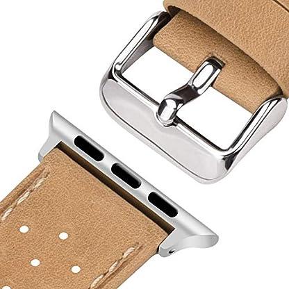 Fullmosa-Kompatible-Apple-Watch-Armband-38mm-42mm-Breeze-Lederarmband-Ersatzband-iWatch-Uhrenarmband-fr-iWatch-Serie-3-2-1-Hermes-und-Nike-Edition38mm42mm