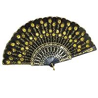 Demarkt-Vintage-Handfcher-Hand-Fan-Handfcher-Fcher-Klappfcher-Sommer-Feste-Party-Hochzeit-Hand-Fan-Hochzeitfcher-aus-Kunststoff-Lila