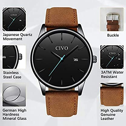 Herren-Uhren-Mnner-Sport-Wasserdicht-Leder-Armbanduhr-Mann-Luxus-Coole-Mode-Datum-Lssige-Analoge-Uhr-fr-Jugendliche-Herren
