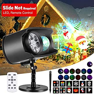 Led-Projektorlampe-Weihnachten-AGPTEK-Halloween-HD-LED-Projektor-Licht-12-Modus-Wasserdichte-Auenbeleuchtung-Wasserwellen-Welleneffekt-mit-Fernbedienung-468-Timer-fr-Geburtstag-Zimmer-Garten