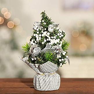 Panamami-Neu-Mini-Kleiner-Weihnachtsbaum-Kleiner-Weihnachtsbaum-Weihnachtstischdekoration-Leinen-Kleiner-Baum-Helles-Tuch-Kleiner-Baum-Vlies-Kleiner-Baum-Weihnachtsbaumdekoration-20cm