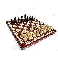 Master-of-Chess-Groartiges-TURNIER-Nr-8-Das-grte-Turnier-Holz-Schachspiel-auf-Amazon