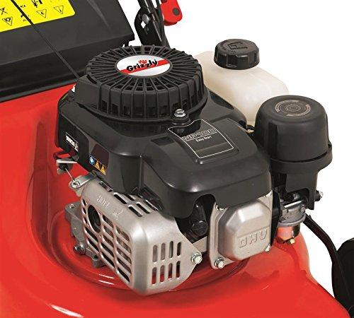 Grizzly-Benzin-Rasenmher-BRM-4210-20-16-kW-21-PS-42-cm-Schnittbreite-Stahlgehuse-5-fach-Hhenverstellung