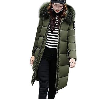 Daunenjacke-DamenHUYURI-Frauen-Feste-Beilufige-Dickere-Winter-Slim-Down-Jacke-Mantel-Trenchcoat-Coat-Daunenmantel-Kapuzenjacke