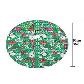 Z-KOKO-Weihnachtsbaum-RockRed-Christmas-Element-Thema-354-Zoll-Bunt-Konservierungsmittel-Runder-Weihnachtsbaumrock-fr