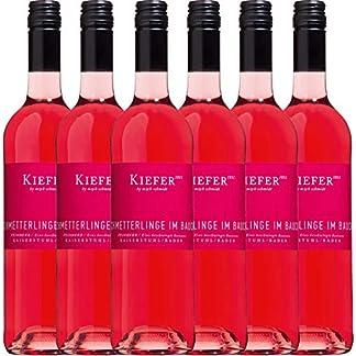 6er-Paket-Schmetterlinge-im-Bauch-Ros-2018-Weingut-Kiefer-halbtrockener-Roswein-deutscher-Sommerwein-aus-Baden-6-x-075-Liter