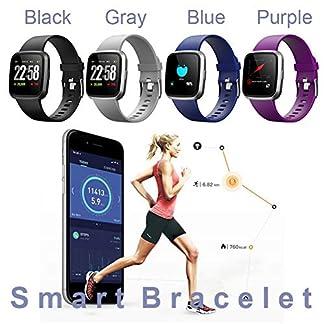 Armband-Verbunden-Fitness-Tracker-Wasserdicht-Schrittzhler-Pulsmesser-Kalorienzhler-Uhr-Bluetooth-Uhr-GPS-Bunte-Smart-Armband-Fr-Android-IOS-Smartphone