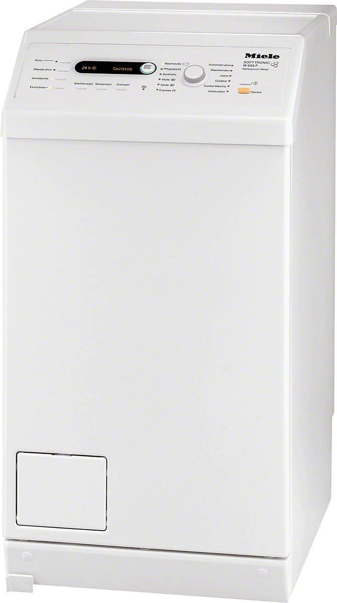 Miele-W695F-WPM-D-LW-Waschmaschine-TL-Energieklasse-A-150-kWhJahr-8800-LiterJahr-6-kg-Lotoswei-1400-UpM-Einzigartig-Patentierte-Schontrommel-Mengenautomatik