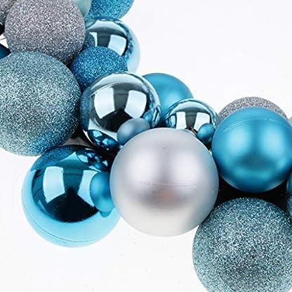 PETSOLA-Weihnachtskugel-Kranz-Tr-Wand-Verzierungs-Girlanden-Weihnachtsdekor