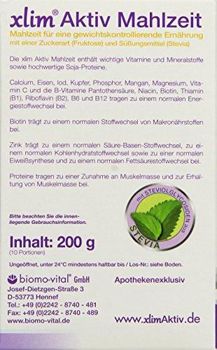 XLI.M Aktiv Aktivmahlzeit Lactosefrei, 1er Pack (1 x 200 g)